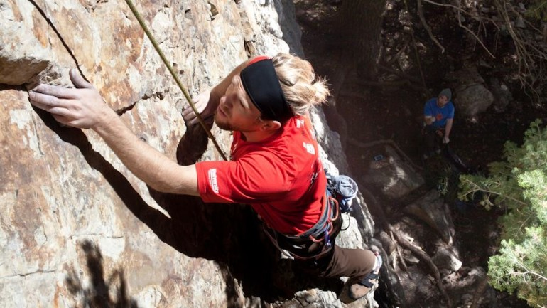 Climbing Ambush in Big Cottonwood Canyon, Utah