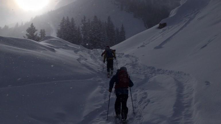 Pre-Season Skiing at Alta, Utah