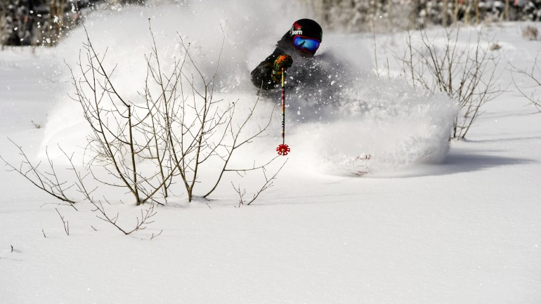 Just Another Pow Day at Deer Valley
