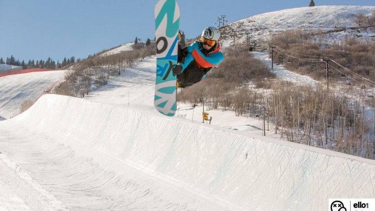 Park City Superpipe January 2014