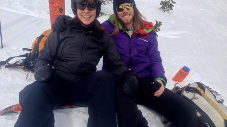 Sharing the Stoke with Mom: Backcountry Skiing & Point Supreme