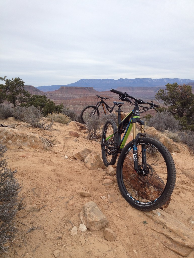 Trip Report: February Mountain Bike Mission to Southern Utah