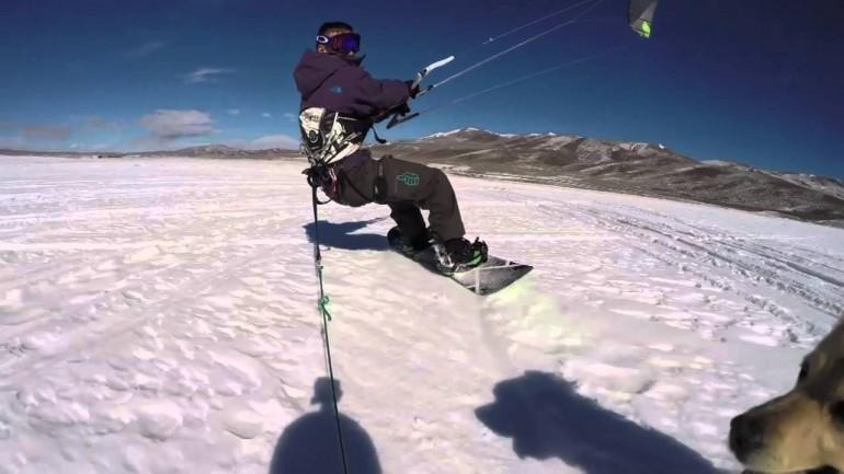 Kitesledding? Why not!
