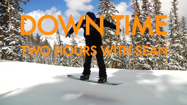 DOWNTIME: Two Hours With Sean Whitaker