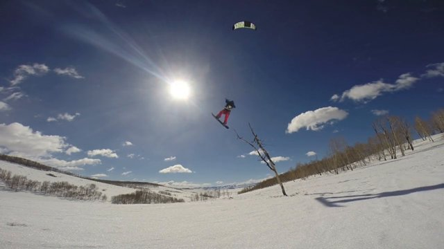 Final Season Edit: 2014 Snowkite Kiteboarding!
