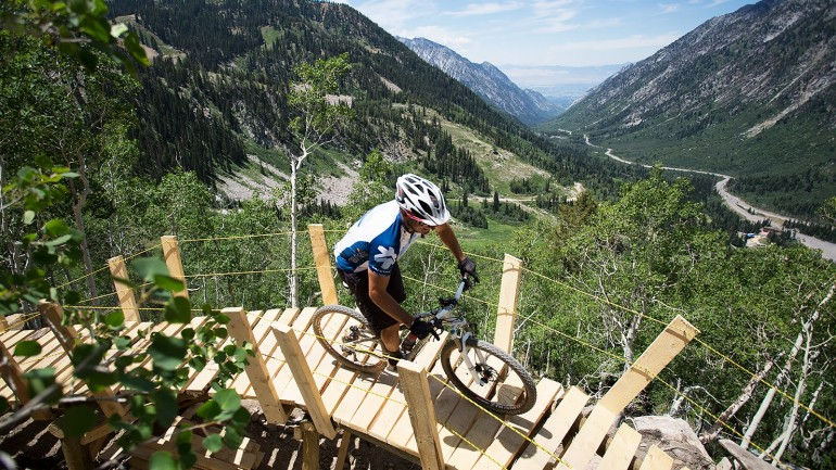 Snowbird's New Big Mountain Trail: 3000 Vertical Feet & 7.5 Miles of Downhill Fun