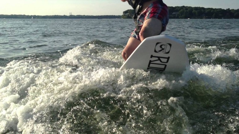 Lake Mendota Madison, WI Wake Surfing