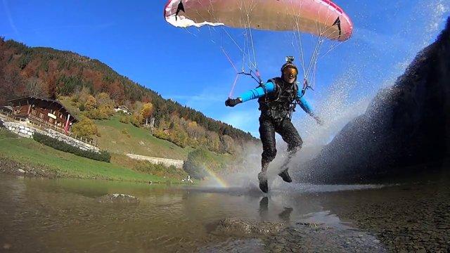 Follow my Gaze: French Alp Speedflying