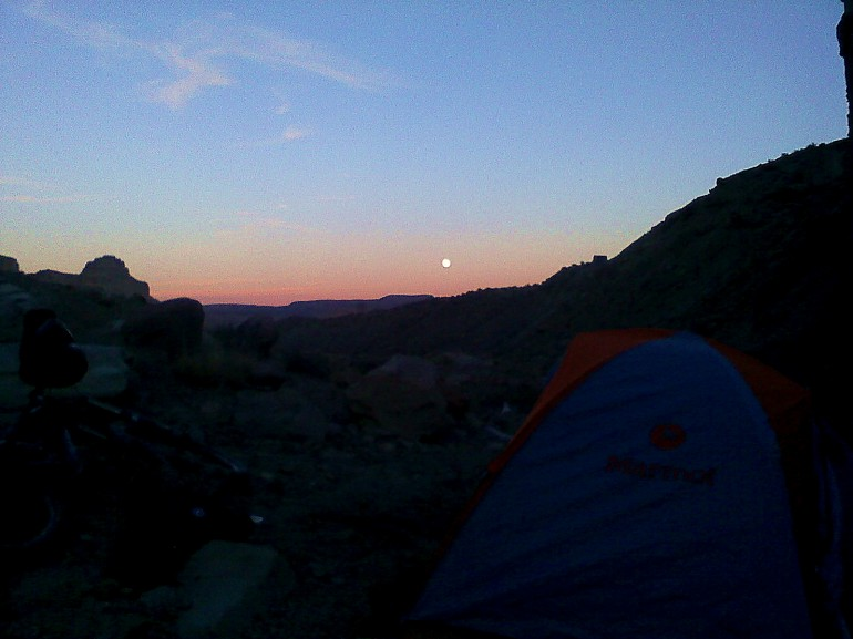 camping in Green River, UT