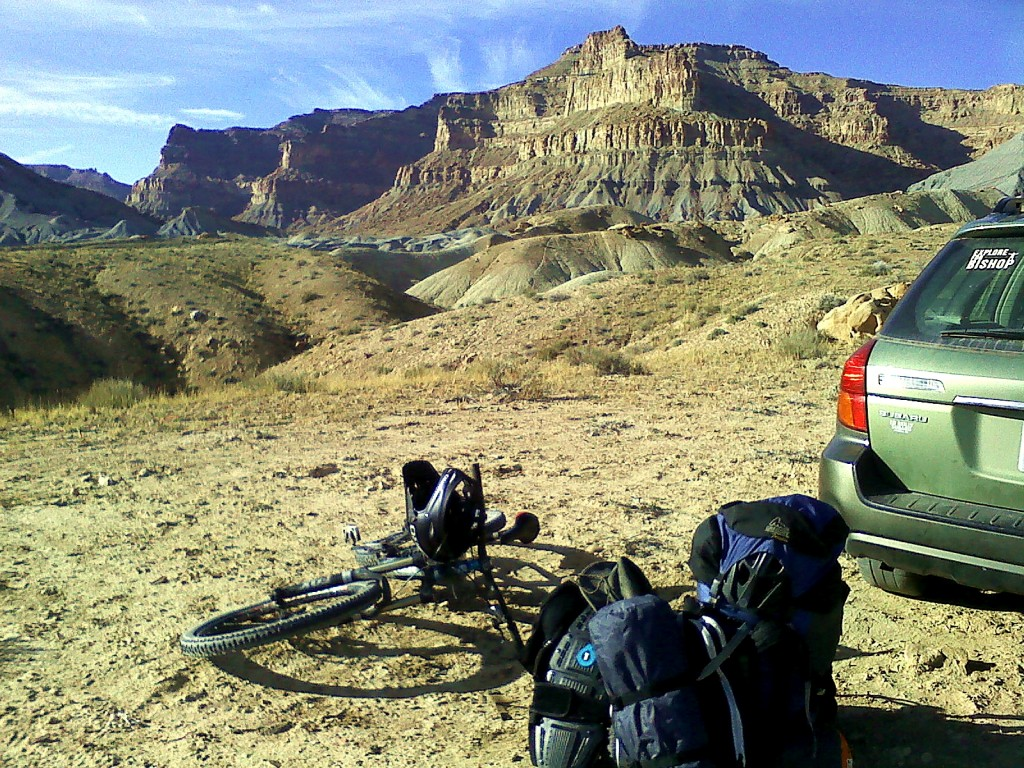 green river utah big mountain freeride biking