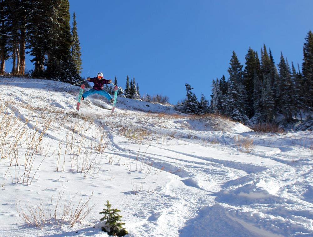 Alta, Utah Early Season Turns