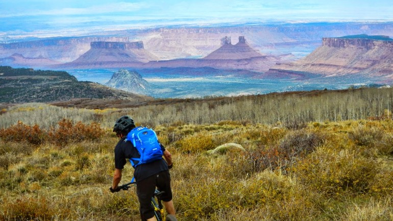Mountain Bike Adventures in Moab, Utah