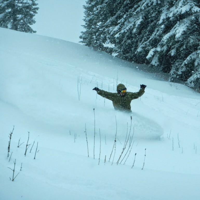 First Day at Snowbird Utah 2014