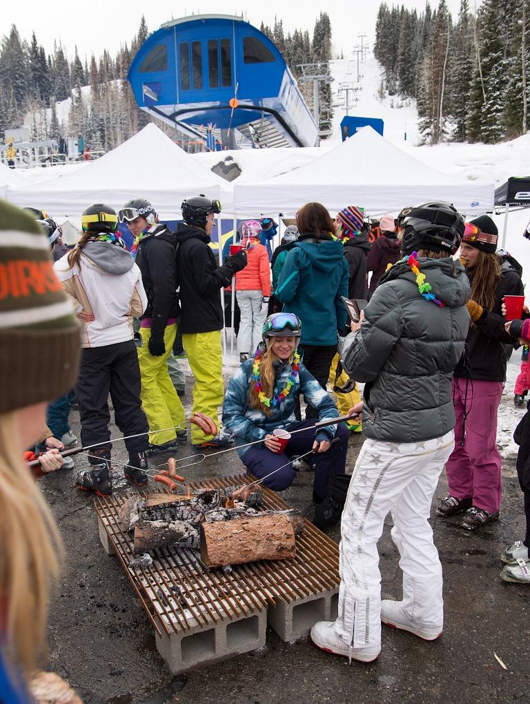 international women's ski day solitude 09