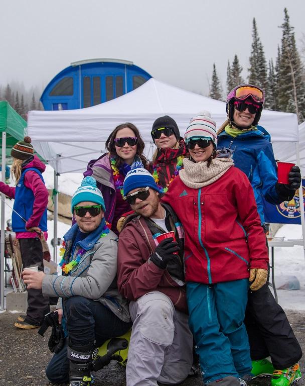 International Women's Ski Day at Solitude - Pit Viper