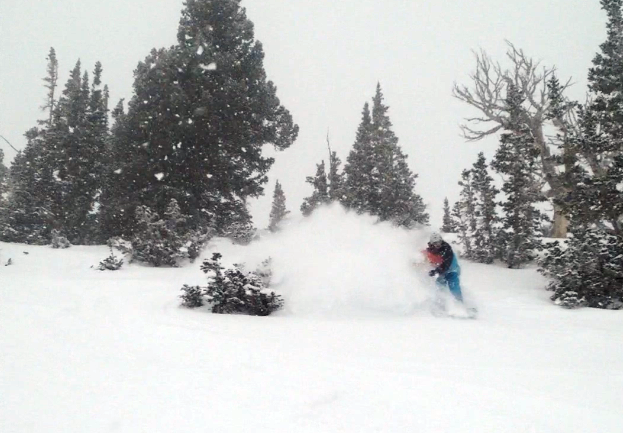The Pow Arrives at Snowbird, Utah