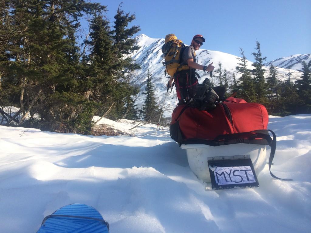 myst alaska touring sled
