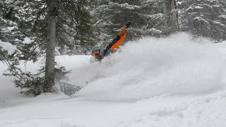 Epic Pow Day at Beaver Mountain!!!