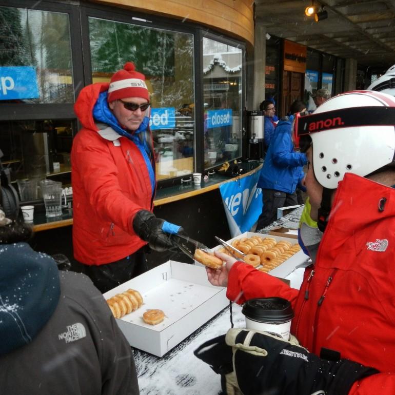 snowbird passholder free donuts