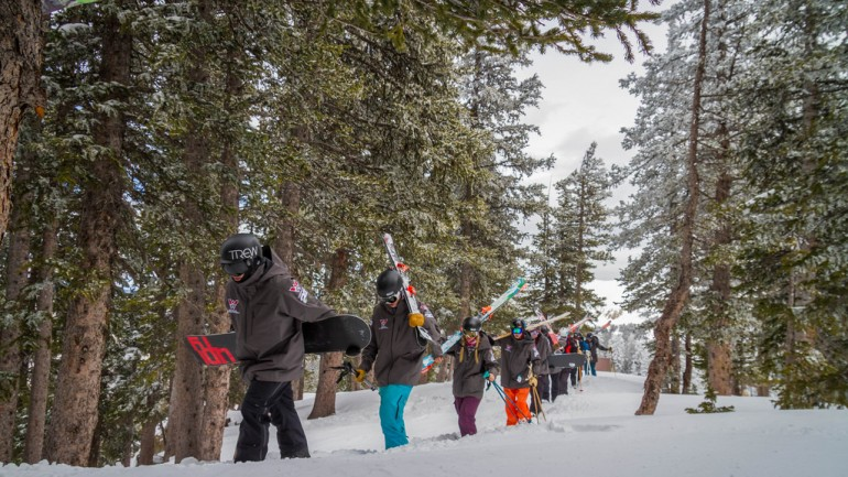 Freeride World Tour and Unexpected Pow at Taos