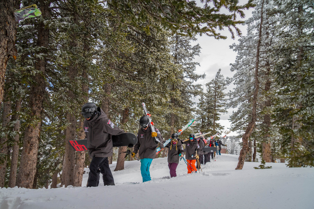 skiing crested butte and taos