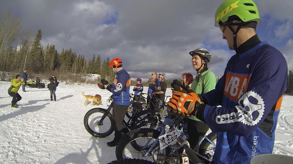 Hinton Alberta Canada Winter Magic Fat Bike - awards lineup