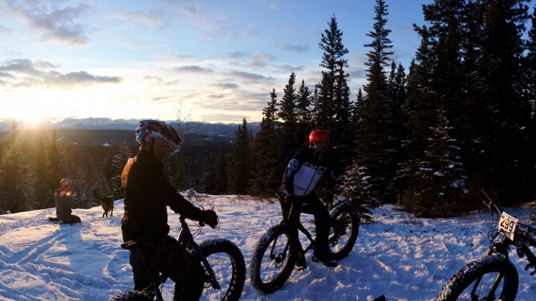 Winter Magic and Fat Bike Love