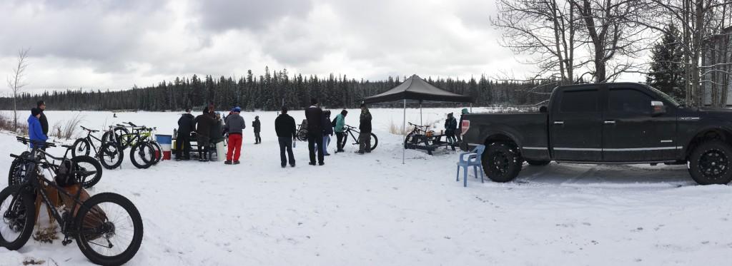 Hinton Alberta Canada Winter Magic Fat Bike - setup