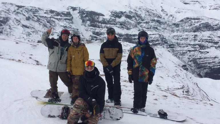 Team Utah Snowboarding's 2015 Chile Trip