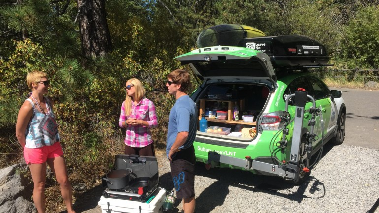 Leave No Trace Paleo Car Camping