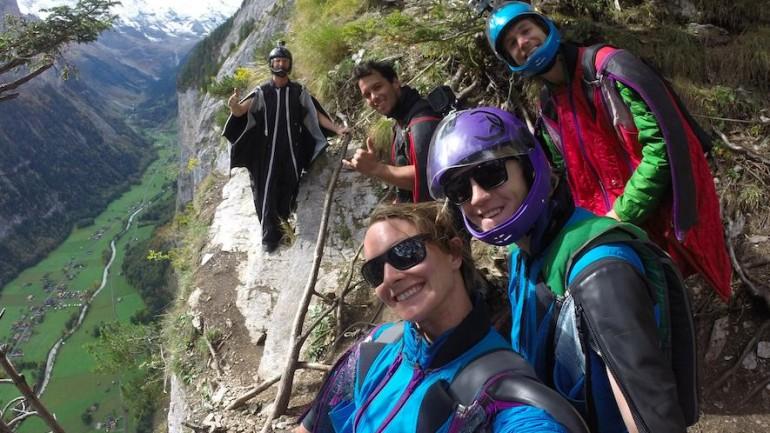 Mountain Wingsuit Flying Until Summer's End