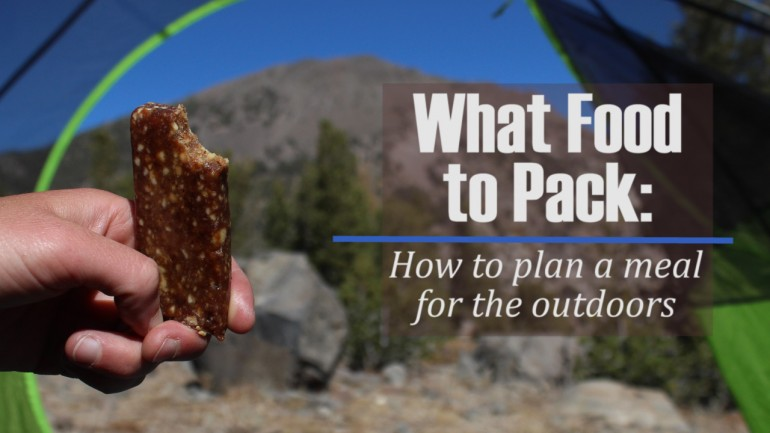 Easy Backcountry Meal Planning